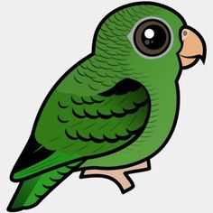 Browse and learn about 721 different bird species from around the world in the original Birdorable style and shop cute gifts for birders and bird lovers. Parrot Logo, African Grey Parrot, Different Birds, Conure, Cockatiel, Cute Birds, Bird Design, Birds Of Prey, Parakeet
