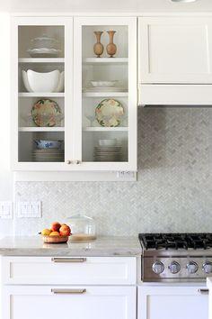 Bright + white kitchen