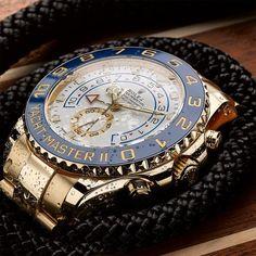 WATCHES Rolex Oyster Professional YACHT-MASTER II Mens Luxury Watch @majordor.com | www.majordor.com