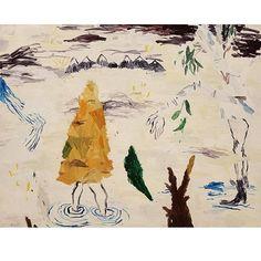 Cristina Lama, Arroyo, 2014. Óleo/tela. 114x146 cm. Galeria Cavecanem, Sevilla, hasta el 12 de Diciembre.