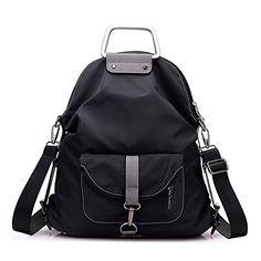 Mfeo Weekend Travel Multi Use Methods Oxford Backpack Shoulder Bag Handbag ** Click image to review more details.