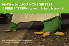 Monster feet for furniture or whatever. I have a chair in need of these ...