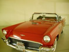 """This picture came from my video titled """" Joking Around With You Guys """" that can be viewed at youtube.com/viewwithme and can now be bought on your favorite items at Cafe Press titled """" Red 1957 Ford Thunderbird """" designed by: Doris Anne Beaulieu     https://www.youtube.com/user/Viewwithme"""