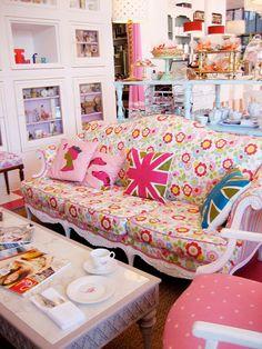 Cath Kidston filled Tea Room Crown and Crumpet - Heart Handmade uk