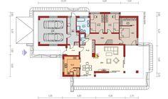 Moderne riešený murovaný dom s veľmi vhodným riešením je určený až pre 4 člennú rodinu. Dispozičné riešenie rozdeľuje doma na dennú a nočnú časť. Dom má množstvo odkladacích priestorov ako aj vlastnú technickú miestnosť. Priestranné riešenie obývacej ...