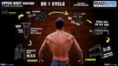 Rutina full body -empuje, jalón y abs- (Upper Body Routine 2)