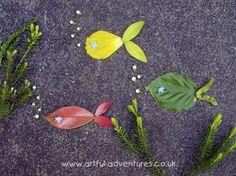 More pretty Land art ideas