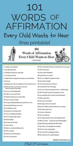 How to Build Up Your Marriage, Child, and Home . . . One Word at a Time {with 3 Free Printables}
