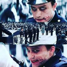 Joker *-* best moment in dark knight .) To kill the mayor of New York.now that's thinking BIG. Joker Batman, Joker Y Harley Quinn, Joker Art, Batman Art, Batman Robin, Joker Dark Knight, The Dark Knight Trilogy, Heath Ledger Joker, Dc Comics