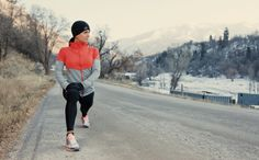 This interval speed workout can be done on the roads (even if conditions are bad!).