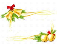 Corner Christmas Bells Clipart