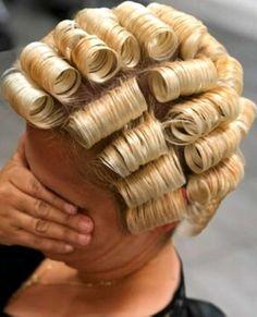Teased Hair, Bouffant Hair, Updo Styles, Curly Hair Styles, New Perm, Two Toned Hair, Blonde Updo, Bleach Blonde Hair, Bridal Hair Updo