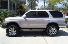 2000 4Runner With Either A 3 Or 6 Inch Lift.