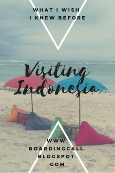 tips on Indonesia