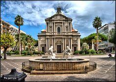 Barcellona Pozzo di Gotto cathedral, Sicily