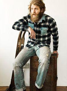 for some reason the beard isn't weird...