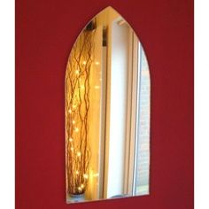 Gothic Arch Mirrors (3mm Acrylic Mirror, Several Sizes Available) #SuperCoolCreations #Modern