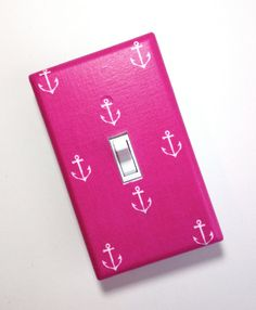 Anchor Light Switch Plate Cover / Nautical Kids Room by SSKDesigns, $10.00