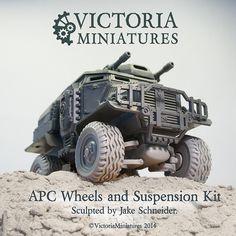 Astra Militarum imperial guard Tempestus Scions Taurox Prime Suspension assemby