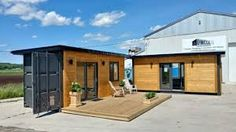 Image result for Tiny House made of shipping containers