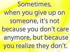 Sad but true...  So,,, here's to you,,, one way street