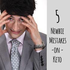 5 Newbie Mistakes on Keto - No Bun Please