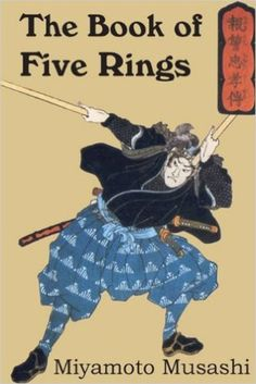 A Book Of Five Rings. By Miyamoto Musashi Originally written over 350 years ago, this text on sword combat in feudal Japan is now recognized as one of the greatest books on strategy ever written.Softcover. 95 pp.  One of the most insightful texts on the subtle arts of confrontation and victory to emerge from Asian culture. Written not only for martial artists but for anyone who wants to apply the timeless principles of this text to their life.