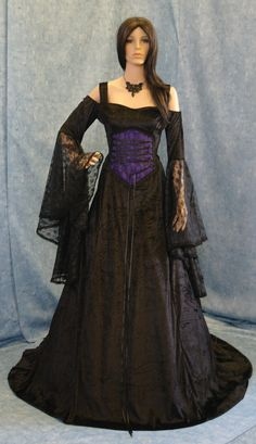 Gothic++vampire+Renaissance+medieval+by+camelotcostumes+on+Etsy,+$315.00