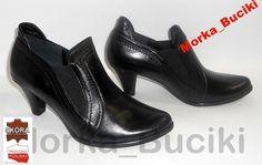 38 Botki Sztyblety Czarne Skóra Botinki na Obcasie (5089491675) - Allegro.pl - Więcej niż aukcje. Character Shoes, Dance Shoes, My Style, Fashion, Dancing Shoes, Moda, Fashion Styles, Fashion Illustrations