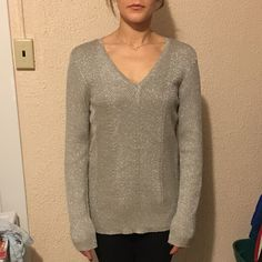 Ralph Lauren top NWT Ralph Lauren sweater top. V neck. Size XL. Ralph Lauren Tops