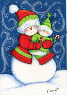muñecos de nieve ⛄️