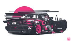 Kate's Mazda MX-5 on Behance - #car #cartuning #tuningcar #cars #tuning #cartuningideas #cartuningdiy #autoracing #racing #auto #racingauto #supercars #sportcars #carssports