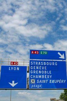 direction signs in autorute | About-France.com - Frankreich Reise-undInformationsportal. EineWebsite ...