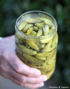 Monique's Cornichons | by Susan Herrmann Loomis on epicurious (photo from French blog)