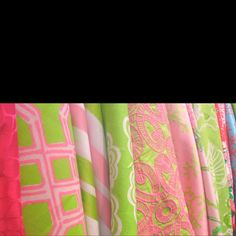Lilly fabric!