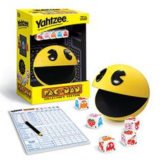 ThinkGeek :: Pac-Man Yahtzee