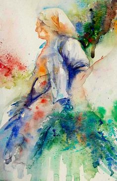 The Magic of Watercolour Painting' virtual art gallery by Jean Haines, Artist - browse and buy watercolor paintings online including landscapes, portraits, animals and action galleries Watercolor Art Diy, Watercolor Pictures, Watercolor Art Paintings, Watercolor Artists, Watercolor Portraits, Watercolours, Floral Watercolor, Virtual Art, Painting People