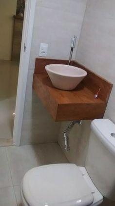 lavatório bancada lavabo madeira de demolição banheiro cuba
