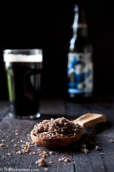 Homemade Stout Beer Salt