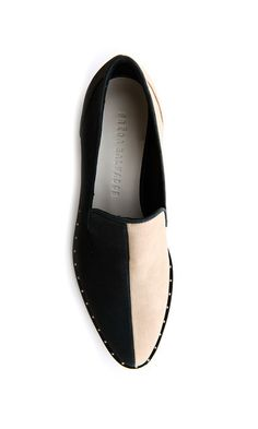 split flat loafers | freda salvador