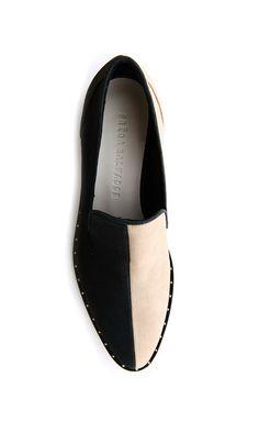 6bb5dd043e9e3 split flat loafers   freda salvador Sock Shoes, Red Shoes, Shoe Boots, Shoe