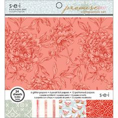 SEI - Promise Me Collection - 6 x 6 Paper Pad at Scrapbook.com $5.99