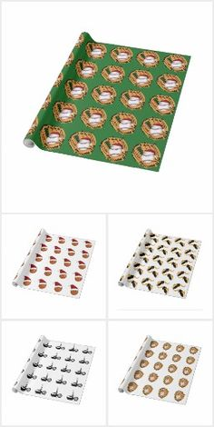 Wrap it up! Sports Theme by #Gravityx9 Designs and #Sports4you - Wrap it up! Sports Theme Sports Themed gift wrapping and decorating paper. Available in different sizes and types of paper. Wrapping paper for coaches, sports fans, athletes and anyone who likes a particular sport. #Sportswrap #Giftwrap #Sports #allsports #craftingpaper #diyproject