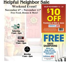 You don't want to miss these great savings and demos coming up at Goffstown Ace Hardware!!!! Look at what Ace has to offer us in November!  - http://extremecouponprofessors.net/2013/10/dont-want-miss-great-savings-demos-coming-goffstown-ace-hardware-look-ace-offer-us-november/