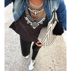 Glamorous Over The Top Statement Necklace #fashion #style #ootd #glam #statementnecklace - 27,90 € @happinessboutique.com