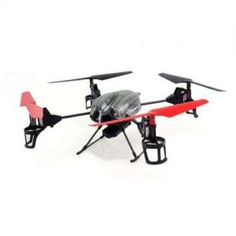 WL Toys V959 Quadcopter RC 4 Channel V989 - Future BattleShip Gatling Machine with Onboard Camera