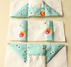 Finally...a hand pieced quilt tutorial...EXCELLENT FOR BEGINNERS Why Not Sew?: Hand Pieced Quilt-A-Long Block # 1 Churn Dash