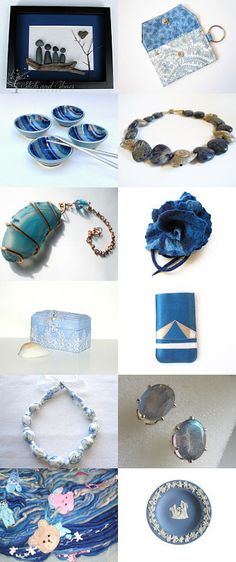Blue ~ by Squire, Lisa on Etsy--Pinned with TreasuryPin.com