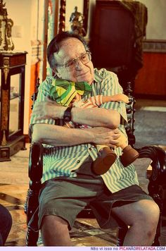 Roberto Gomez Bolaños.. Chapulin Colorado and his most famous character, el Chavo del Ocho. You will be missed! Rip 11.28.14