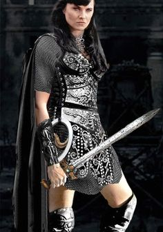 Xena- used to watch this all the time with my dad when i was little.